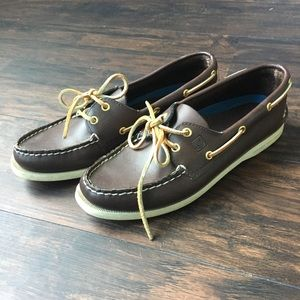 Sperry Boat Shoes Dark Brown